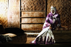 Bride (sniper44) Tags: woman girl fashion lady bride dress young hijab weddingdress tone pengantin edit perempuan strobe cls sniper44 teratak flowerofislam sniper44photography datosyedalwi