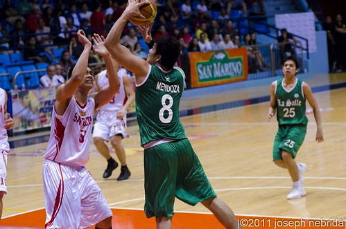 2011 FilOil Flying V Preseason Tournament: San Beda Red Lions vs. De La Salle Green Archers, May 28