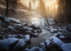 Winter at McCloud Falls (wesome) Tags: adamattoun mccloudfalls mtshasta dunsmuir reddingca
