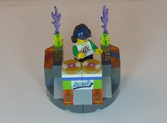 DJ Baxsta & Custom DJ Table Brick Yourself Custom Lego Figure