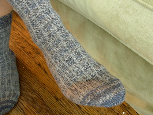 Plaid socks (2)