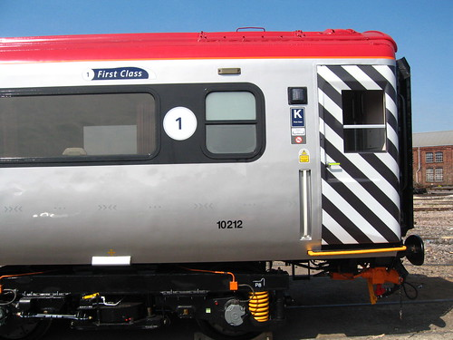 Intercity charter train - refurbished 2009 - external detail