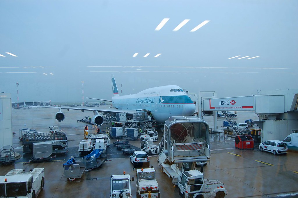 CDG Airport, Paris 巴黎戴高樂機場