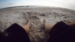 Vacation POV (Joshua Blankenship) Tags: beach florida capesanblas diyfisheye