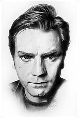 Ewan McGregor (pbradyart) Tags: portrait bw art pencil movie star sketch artwork drawing ewanmcgregor aworkofart filmstardrawing ewanmcgregordrawing ewanmcgregorportrait