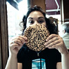 Her face is as big as a cookie! (sadandbeautiful (Sarah)) Tags: nyc newyork cookie manhattan diner esther esther17 notreallyagoodshotbutthatsokitsestherandabigcookie