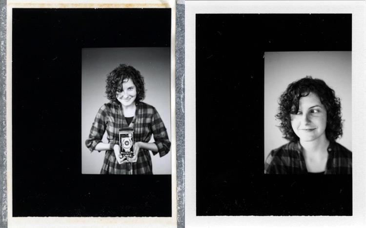Image of Megan Forrester Polaroids
