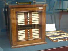 Microscope slide storage, Whipple Museum, University of Cambridge