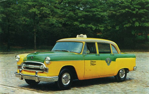 1956 Checker Model A-8 Taxicab