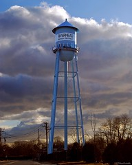 Riverhead Water Tower (Diane Woodcheke) Tags: storm nikon watertower award longisland stormysky stormclouds riverhead honorablemention contestwinner winningphoto nikond40x d40x riverheadny riverheadwatertower