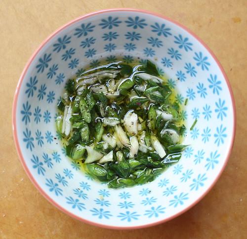 Green Garlic Oil