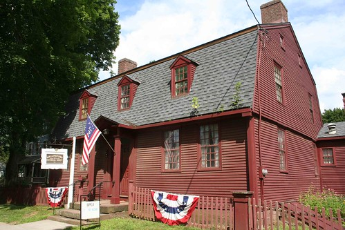 Wallingford HS - Samuel Parsons House, 1750s - founded 1916