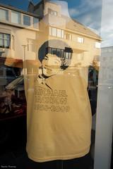 The Day after Michael Jackson Died (Martin Thomay) Tags: window shop mirror iceland michaeljackson reykjavík reykjavk reykjav