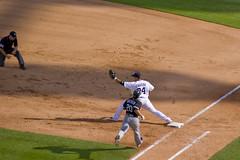 Double Play Part 3 (merobson) Tags: baseball detroit tigers mlb comericapark detroittigers firstbase majorleaguebaseball doubleplay miguelcabrera chicagowhitesoxumpire