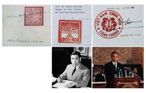 VN Presidents' Seals and Signatures