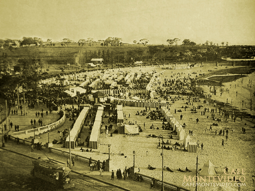 playas montevideo antiguo