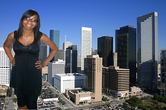 giantess in Houston (supadupafunny) Tags: pov teen stomp giantess vore