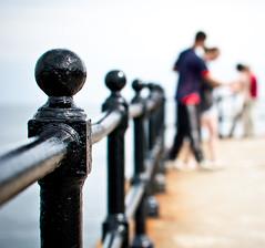 Mevagissey Harbour (Komatoes) Tags: uk sea sky people black fence 50mm nikon rust cornwall harbour f14 g explore nikkor railings afs 50mmf14 118 mevagissey harbourwall emmets d40 outerharbour nikond40 mevagisseyharbour nikkorf14afsg