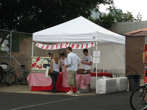 Red Hook Lobster Pound stand at Brooklyn Sunday Flea