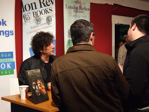 Neil Gaiman at Edinburgh Book Festival 2009