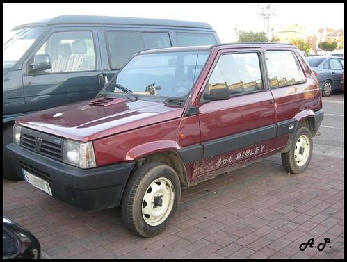 Fiat Panda 4x4 Sisley. 1989 Fiat Panda 4x4 SISLEY