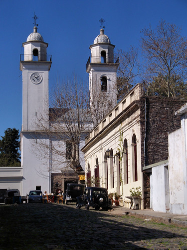 Iglesia Matriz in Colonia del Sacramento, Uruguay by katiealley on Flickr