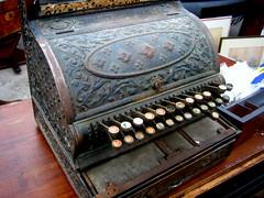 Old Typewriter - Sunbury Antique Market (noriko.stardust) Tags: park southwest london market antique racecourse sunbury kempton