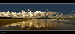 Dunnet Bay (Craig Robertson) Tags: reflection beach clouds bay scotland highlands sand explore reflexions frontpage esplore dunney totalphoto theunforgettablepictures