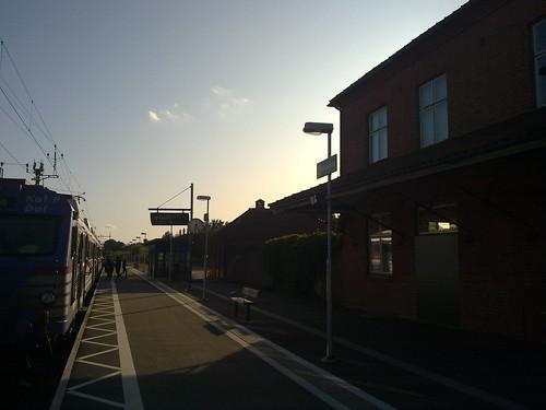 Bjuv  järnvägsstationen