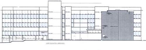 Kingston General Hospital Expansion 2009 - North Elevation Burr