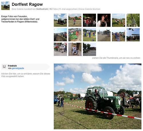Galerie: Dorffest Ragow