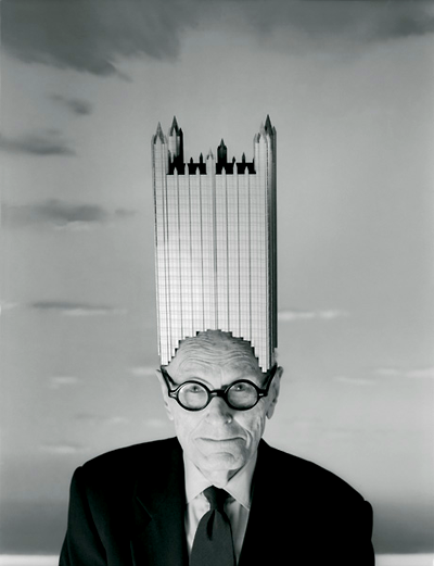 PHILIP JOHNSON by Josef Astor_ 1996