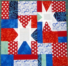 September snip.sew.send. block for Lisa