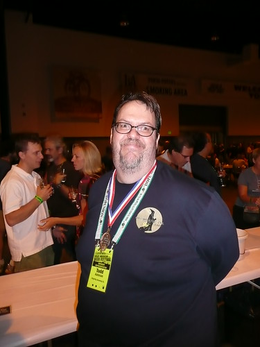 Todd Ashman, from Fifty Fifty Brewing