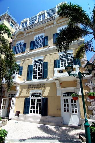 崗頂前地, Macau