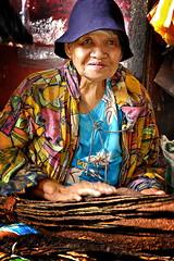 The Tabako Vendor of Iloilo Central Market (emanlerona) Tags: market oldlady oldwoman tobacco iloilo tamron2875f28 tabako nikond40 emanlerona emmanuellerona iloilocentralmarket