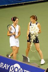 杉山愛@東レ パン・パシフィック・テニス2009