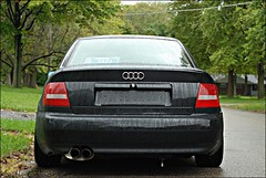 baby got back (K.Osborn) Tags: suspension over b5 hr coil a4 audi crofts s4 tsw 17x8