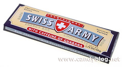 Swiss Army Energy Bar Chocolate - Dark Chocolate with corn flakes & guarana