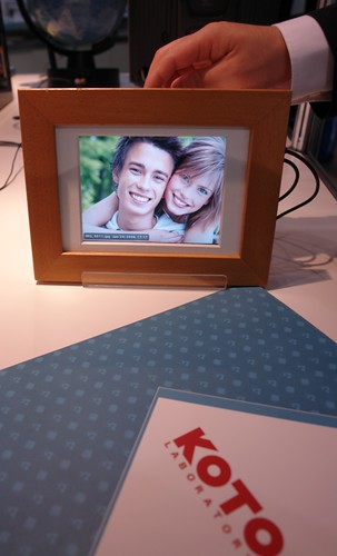 digital photoframe with 3D grafic chipset by KOTO
