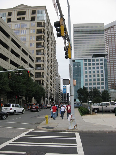 Uptown Charlotte on Game day (2)