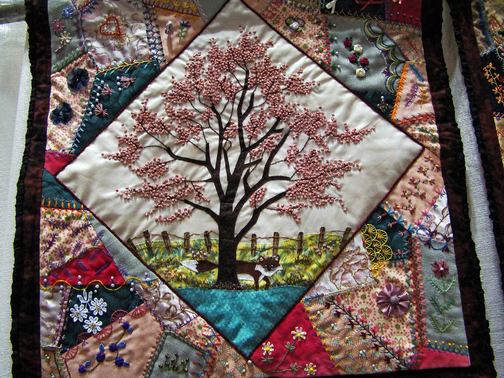 DSC02716 Quilt 2098 Into the Woods by Ann E Rauen