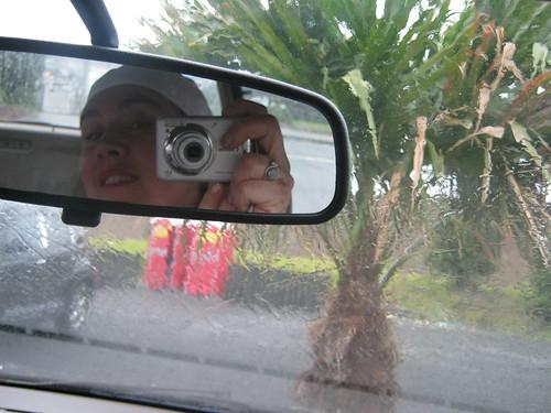 pioggia macchina
