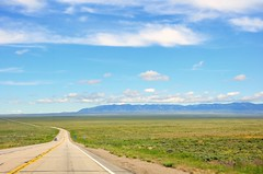 Big Sky Country - Central Wyoming (kmanohar) Tags: wyoming bigskycountry blueskies bigbrightsky blueskycountry us287 highway287 highway287wyoming us287wyoming straightroad infinity neverendingroad carboncounty carboncountywyoming brightsky brightbluesky ferrismountains ferrismountainswildernessstudyarea roadtrip longdrive emptyhighways desolatelandscape flatplain distanthorizon endlesshorizon wyomingplain beautifuldrive wyomingdrive scenicdrive wyomingscenicdrive spectacularscenery distantmountains wyominghighway beautifulwyoming scenicwyoming spectacularwyoming wyomingmountainrange wyomingmountains wyomingroads wyominglandscape roadintohorizon pathintoeternity pathtohorizon surrealwyoming highplains southernwyoming rawlinswy rawlingwyoming rawlins brightblueskys centralwyoming traveling tranquility peace journey remote ruralamerica inlandamerica ruralusa inlandusa nobody nopeople deserted notraffic transportation countryside mothernature freedom countryroad ruralroad wyomingroadtrip getaways opensky skyopen opencountryroad