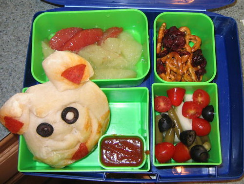Bento Box Lunch 10/20/09