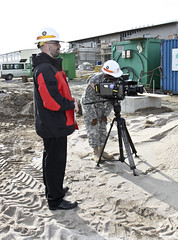 USACE in final construction phases for Efficient Basing Grafenwoehr (USACE Europe District) Tags: camera news germany video construction graf reporter constructionsite engineer usarmy nau ebg afn usace corpsofengineers eud grafenwoehr armedforcesnetwork europedistrict vehiclemaintenancefacility efficientbasinggrafenwoehr