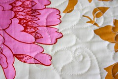 Feathered Leaves Quilting