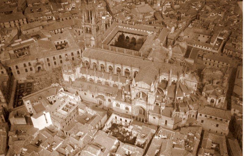 Foto Aérea de Toledo a mediados del siglo XX