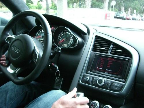 Audi R8 Interior. Audi R8 Interior