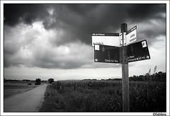 Nord Sud (Xavito) Tags: nature camino paisaje bn tormenta cami tempesta paisatge bwdreams